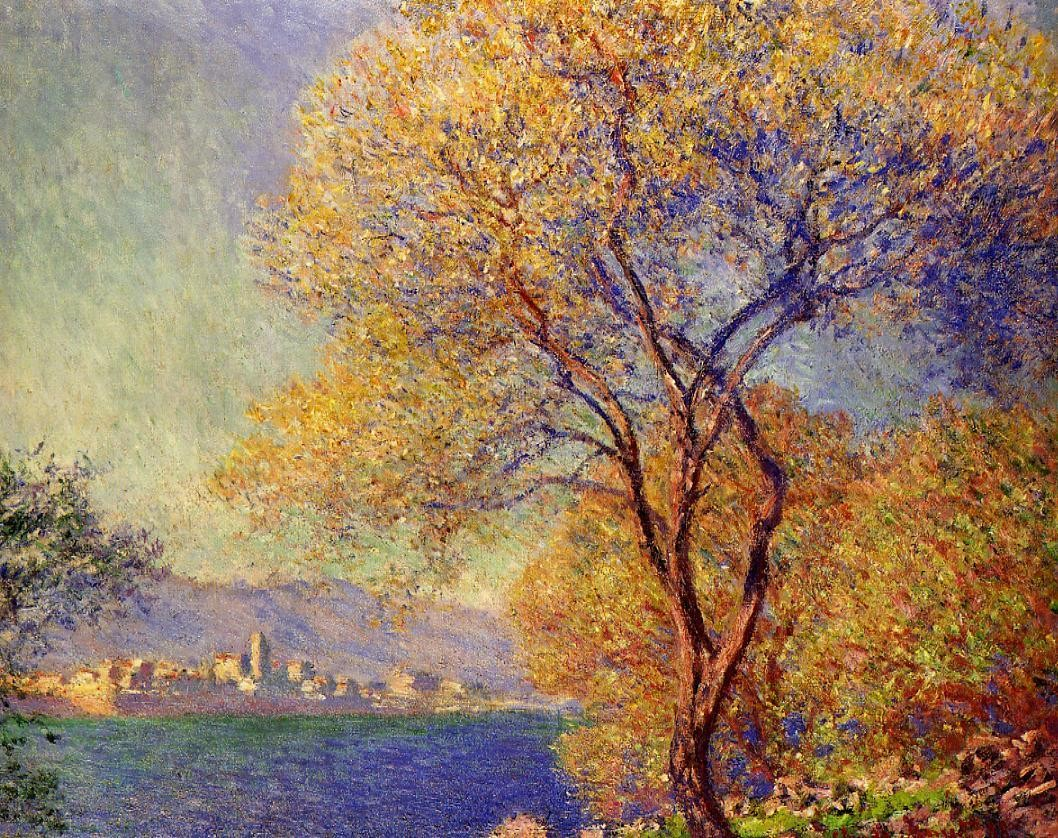 Antibes Seen from the Salis Gardens, 1888 Claude Monet